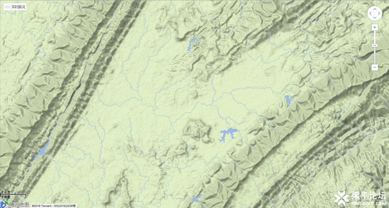 花园寨在梁平区平坝区域的相对位置4.jpg