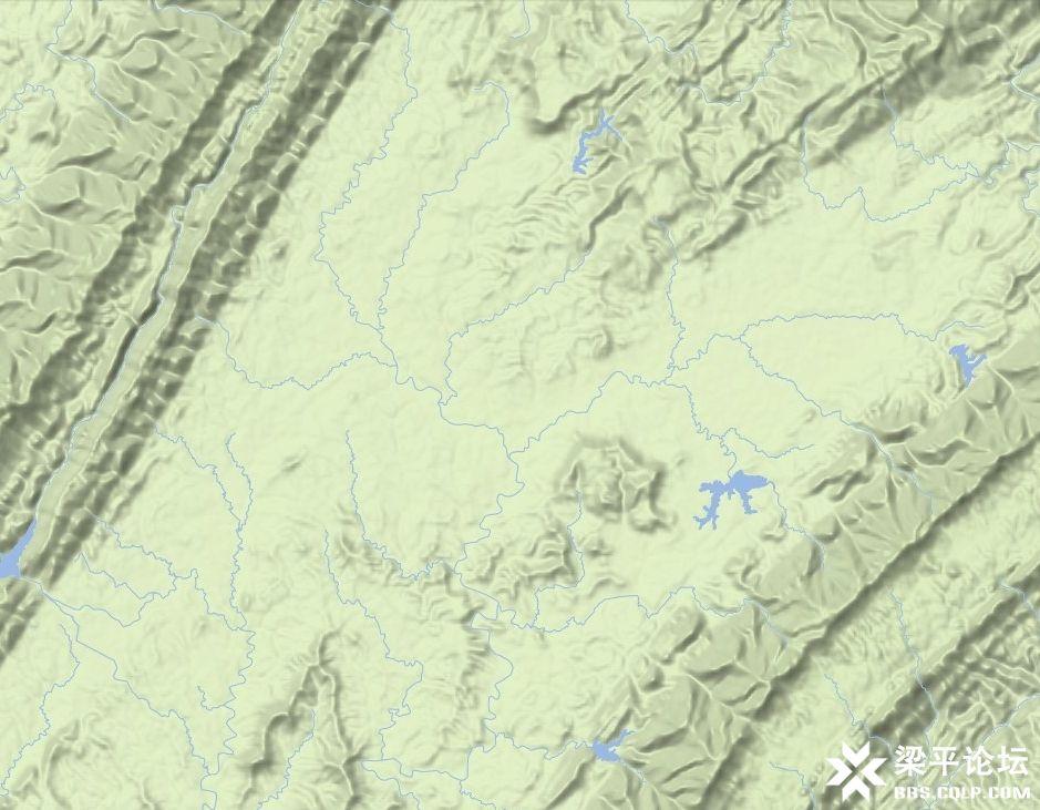 梁平区龙溪大道、龙溪湖及梁平西站位置示意图 6