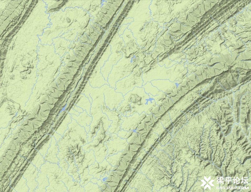 梁平区龙溪大道、龙溪湖及梁平西站位置示意图 4