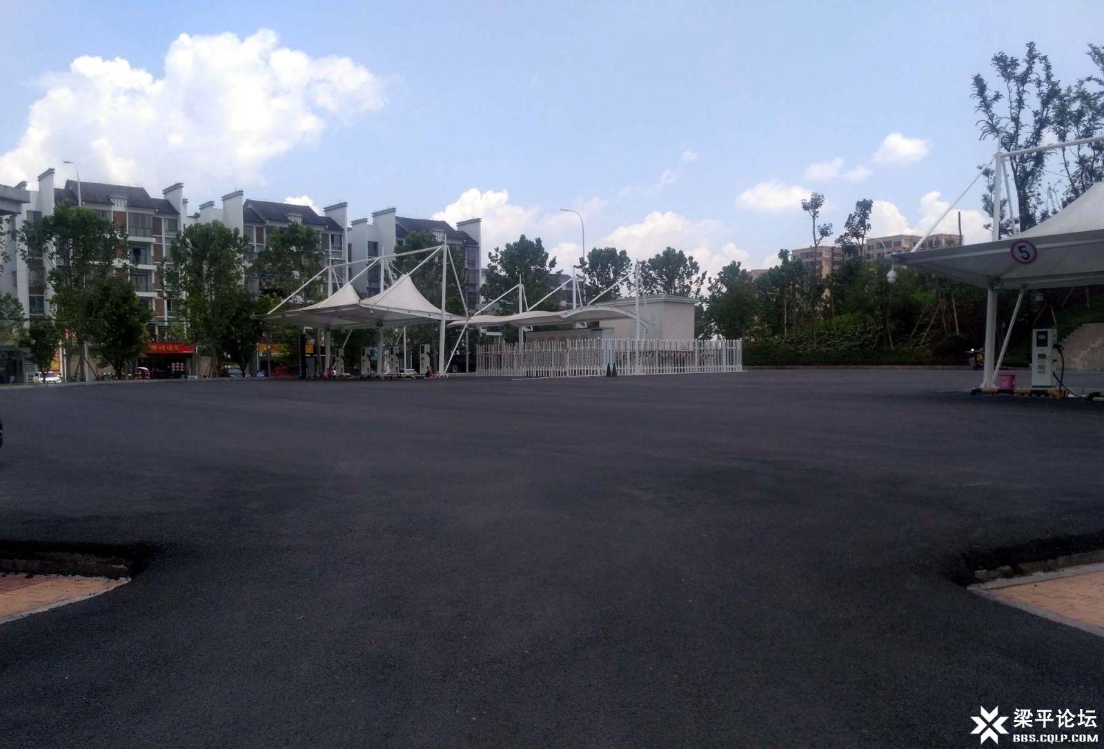 双桂湿地公园停车场